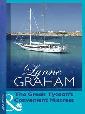 cover image of The Greek Tycoon's Convenient Mistress