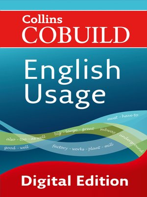 cover image of English Usage