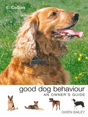 cover image of Collins Good Dog Behaviour