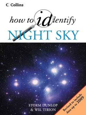 cover image of The Night Sky (How to Identify)