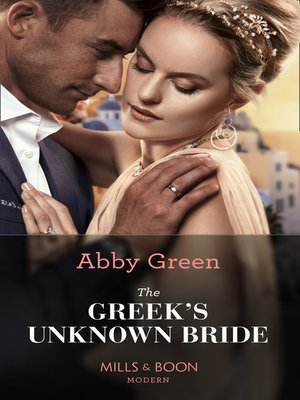 cover image of The Greek's Unknown Bride