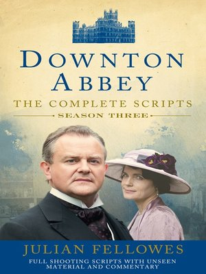 cover image of Downton Abbey, Series 3 Scripts (Official)
