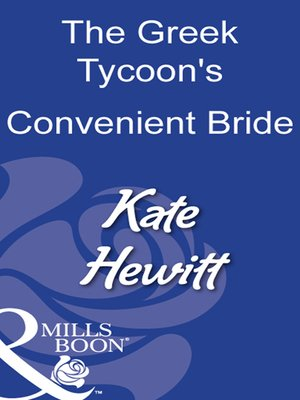 cover image of The Greek Tycoon's Convenient Bride