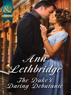 cover image of The Duke's Daring Debutante