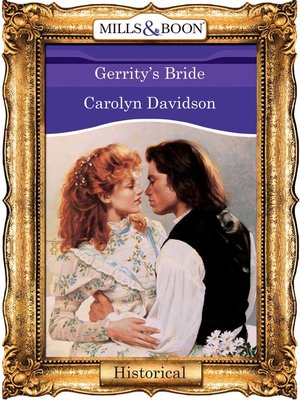 cover image of Gerrity's Bride