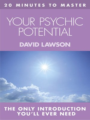 cover image of 20 MINUTES TO MASTER ... YOUR PSYCHIC POTENTIAL