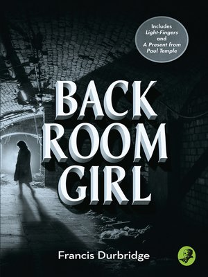 cover image of Back Room Girl