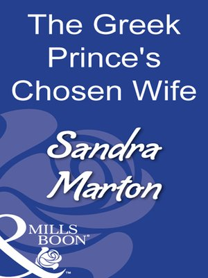 cover image of The Greek Prince's Chosen Wife