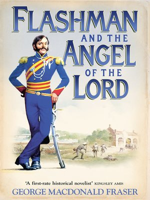 cover image of Flashman and the Angel of the Lord