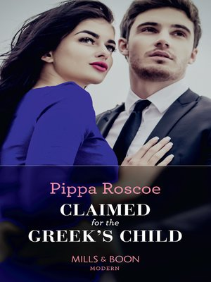 cover image of Claimed For the Greek's Child