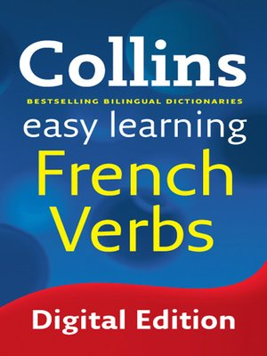 cover image of Collins Easy Learning French Verbs