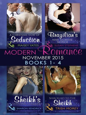 cover image of Modern Romance November 2015 Books 1-4