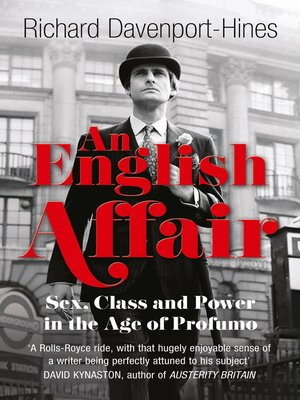 cover image of An English Affair