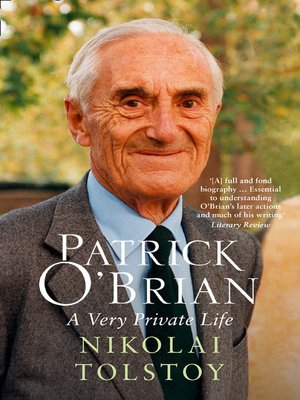 cover image of Patrick O'Brian