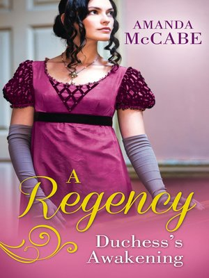 cover image of A Regency Duchess's Awakening