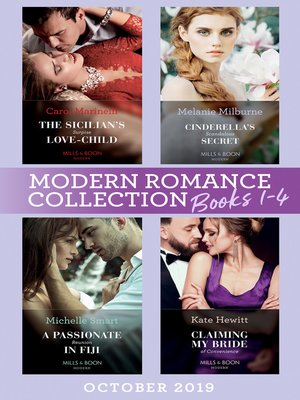 cover image of Modern Romance October 2019 Books 1-4