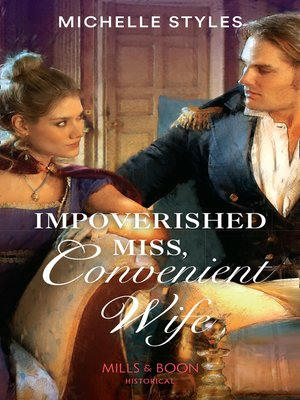 cover image of Impoverished Miss, Convenient Wife