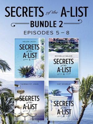 cover image of Secrets of the A-List Box Set, Volume 2