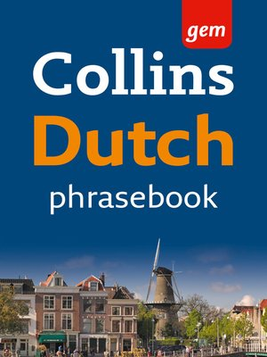 cover image of Dutch Phrasebook