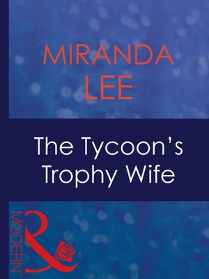 cover image of The Tycoon's Trophy Wife