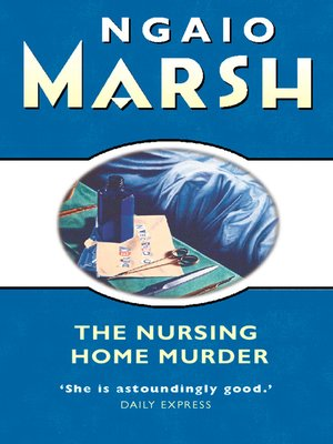 cover image of The Nursing Home Murder