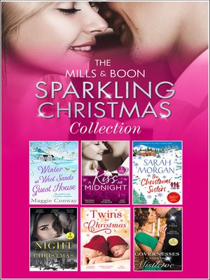 cover image of The Mills & Boon Sparkling Christmas Collection