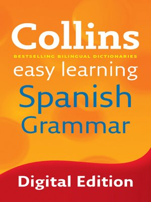 cover image of Collins Easy Learning Spanish Grammar