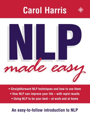 cover image of NLP Made Easy