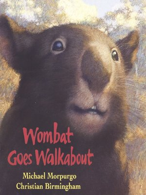 cover image of Wombat Goes Walkabout