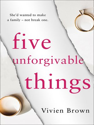 cover image of Five Unforgivable Things