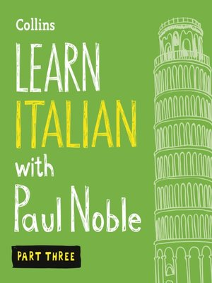 cover image of Learn Italian with Paul Noble, Part 3