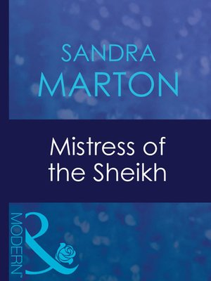 cover image of Mistress of the Sheikh