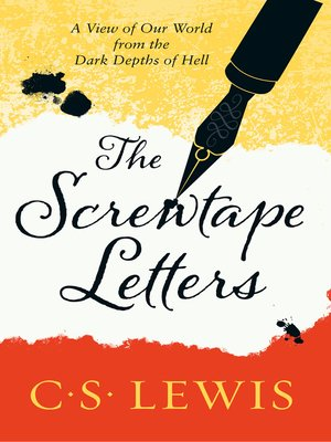 cover image of The Screwtape Letters
