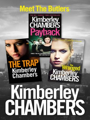 cover image of Kimberley Chambers 3-Book Butler Collection