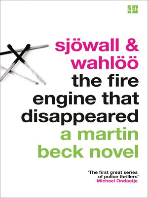 cover image of The Fire Engine That Disappeared