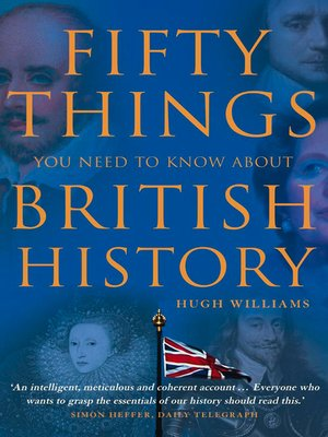 cover image of Fifty Things You Need to Know About British History