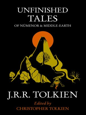 cover image of Unfinished Tales of Númenor and Middle-earth