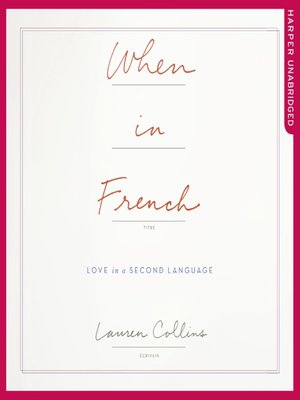 cover image of When in French