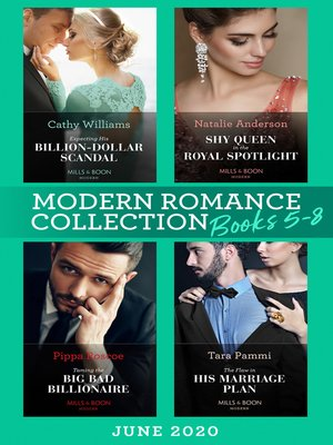 cover image of Modern Romance June 2020 Books 5-8
