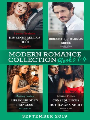 cover image of Modern Romance September Books 1-4