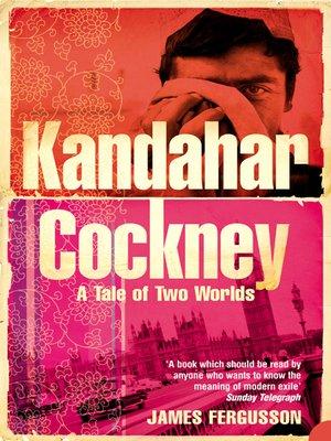 cover image of Kandahar Cockney
