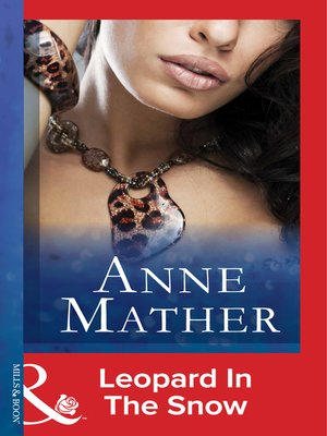 cover image of Leopard In the Snow
