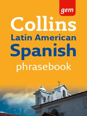 cover image of Latin American Spanish Phrasebook