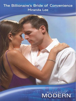 cover image of The Billionaire's Bride of Convenience