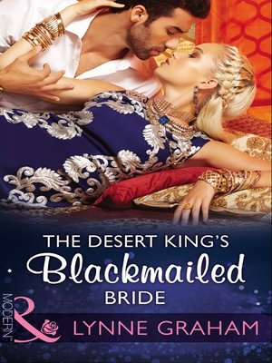 cover image of The Desert King's Blackmailed Bride
