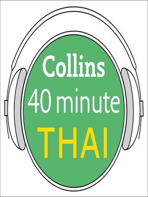 cover image of Thai in 40 Minutes
