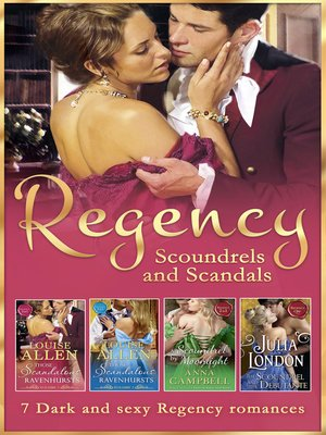 cover image of Regency Scoundrels and Scandals