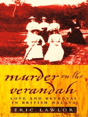 cover image of Murder on the Verandah