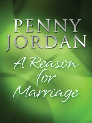 cover image of A Reason for Marriage