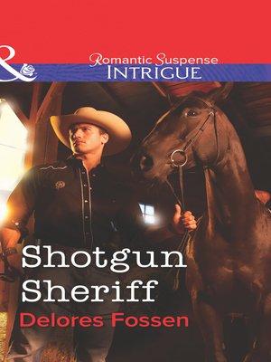 cover image of Shotgun Sheriff